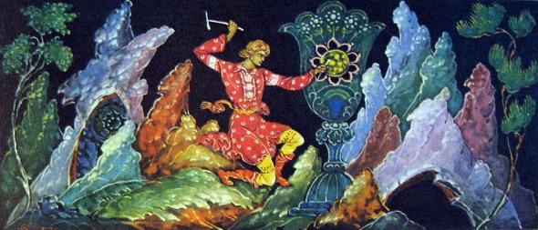 картинки из сказки каменный цветок